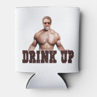 """""""Drink Up"""" Rand Can Cooler"""