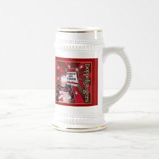 Drink up SINNERS! 18 Oz Beer Stein