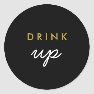 Drink Up Welcome Bag Sticker