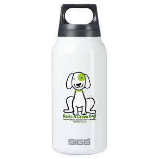 Drink up with Raise A Green Dog! Insulated Water Bottle
