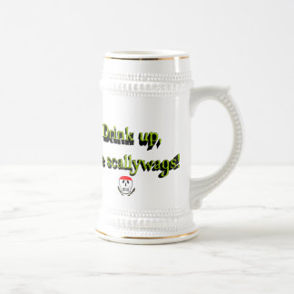 Drink Up Ye Scallywags Beer Stein