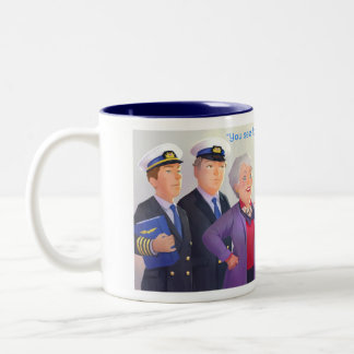 Drink us in! Two-Tone coffee mug