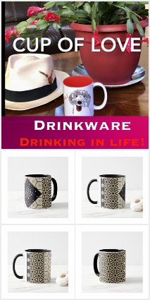 Drink Ware Collection of Mugs, Water Bottles