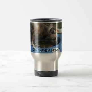 Drink water travel mug
