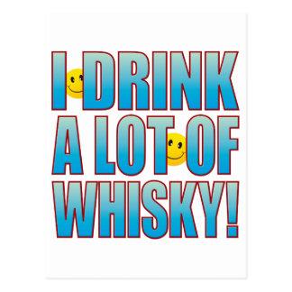 Drink Whisky Life B Postcard