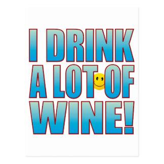 Drink Wine Life B Postcard