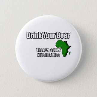 Drink your Beer Design Button