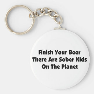 Drink Your Beer Keychains