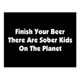 Drink Your Beer Postcard