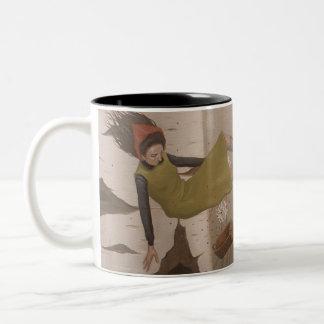 Drink your berries Two-Tone coffee mug