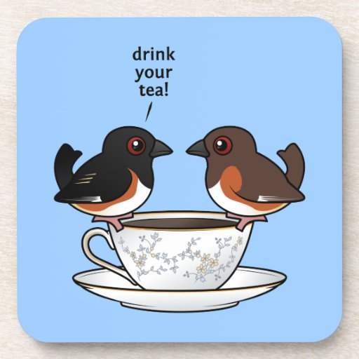 Drink Your Tea! Beverage Coasters