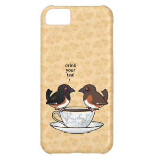 Drink Your Tea! iPhone 5C Cover