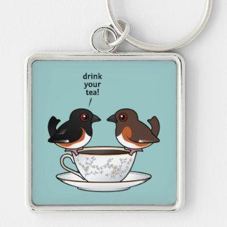 Drink Your Tea! Keychain