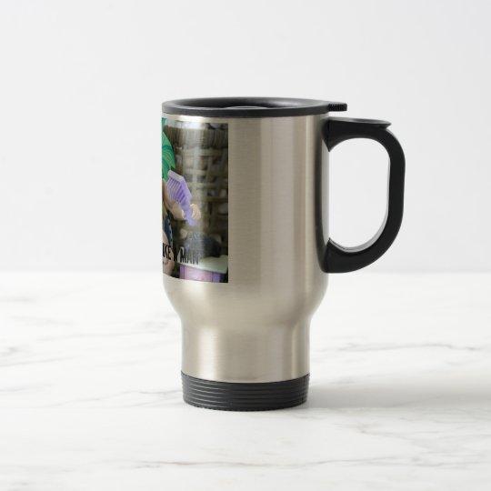 DRINK YOUR TEA LIKE A MAN TRAVEL MUG