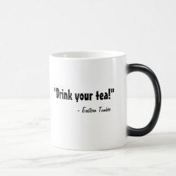Morphing Mug with Eastern Towhee design