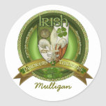 Drinkers & Thinkers - Irish Blessings Classic Round Sticker