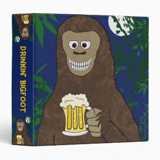 Drinkin' Bigfoot Binder