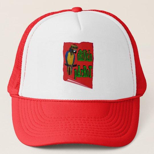 Drinkin Parrot Trucker Hat
