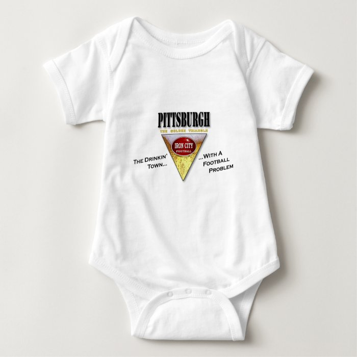 Drinkin' Town with a Football Problem Baby Bodysuit