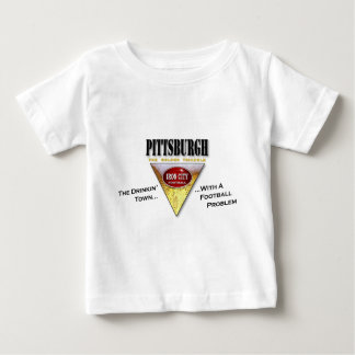 Drinkin' Town with a Football Problem Baby T-Shirt