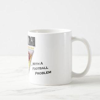 Drinkin' Town with a Football Problem Coffee Mug