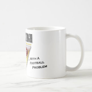Drinkin' Town with a Football Problem Coffee Mugs