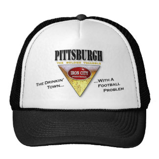 Drinkin' Town with a Football Problem Trucker Hat