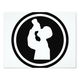 drinking alcohol icon card