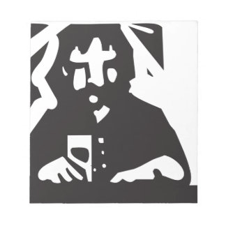 Drinking Alone Memo Note Pads