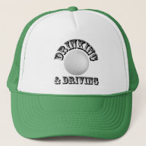 Drinking and Driving - Golf Hat