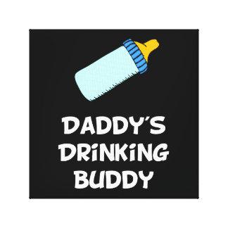 Drinking Buddy Canvas Print
