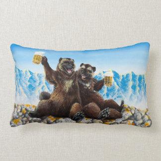 """Drinking Buds"" Lumbar Pillow"