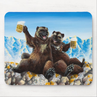 """""""Drinking Buds"""" Mousepad"""