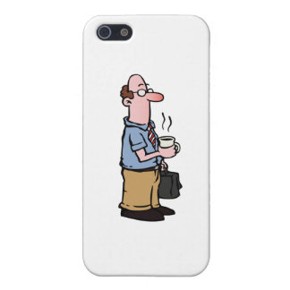 Drinking Coffee Cover For iPhone SE/5/5s