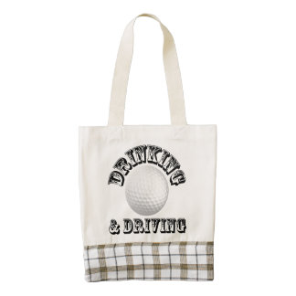 Drinking & Driving - Golf Tote