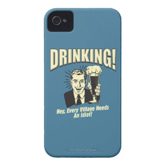 Drinking: Every Village Needs Idiot iPhone 4 Case