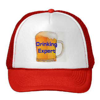 Drinking Expert Cap Trucker Hat