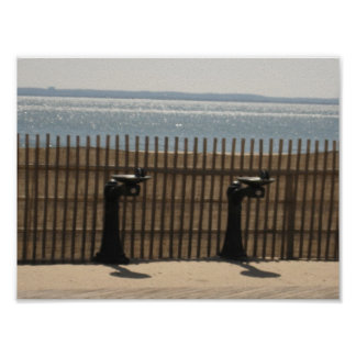 Drinking Fountains on The Boardwalk Posters