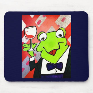 Drinking Frog Coasters Mouse Pad