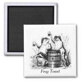 Drinking Frogs Fridge Magnets