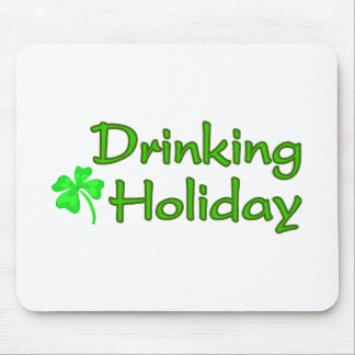 Drinking Holiday Mouse Pad
