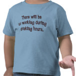 Drinking Hours Toddler T-Shirt