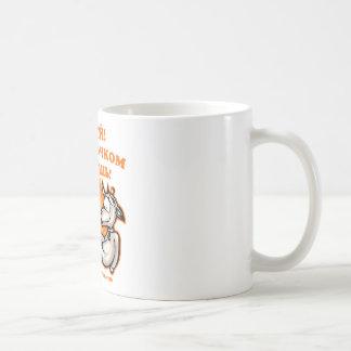 Drinking joke Russian Classic White Coffee Mug