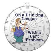 drinking league dart problem dartboard