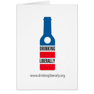 Drinking Liberally Notecard