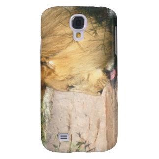 Drinking Lion iPhone 3G Case Samsung Galaxy S4 Case