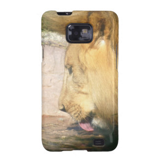 Drinking Lion Phone Case Galaxy SII Cases