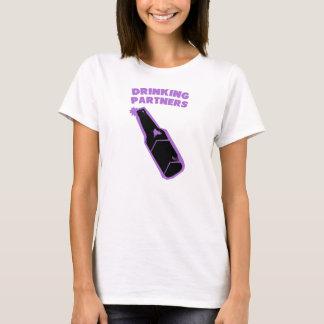 Drinking Partners Purple T-Shirt