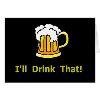 Drinking Problem! - Funny Birthday Card
