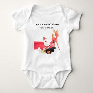 Drinking Santa Baby Bodysuit